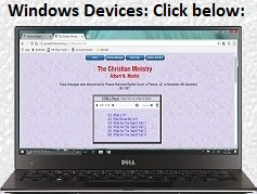 Windows Device Notes Page